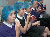St. Palladius Pupils at Lime Tree Larder - June 2014