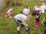 St. Palladius pupils tree planting with Ranger Pete (2009)