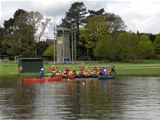 Canoeing fun for St. Palladius pupils at Winmarleigh Hall (2013)