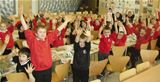 Dalry pupils get messy making bird food (2012)