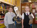 Owl Magic visits St. Palladius PS (2011)