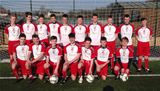 Beith Juniors 1999s in their new football kit - May 2015