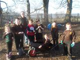 Ranger Pete with Beith PS Wildlife Club (2013)