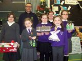 Recycled Christmas decorations competition at St. Palladius (2009)