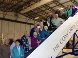 Visually Impaired Group visit the Museum of Flight (2012)