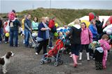 Queue for tractor rides at Family Open Day - 2012