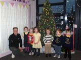 Christmas tree donated to Dalry Nursery/Early Years Centre - 21st December 2015