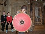Dalry Primary School visit Vikingar! - September 2015