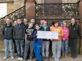 Donation to Dalry's Duke of Edinburgh Award group (2011)