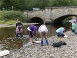 St Palladius pupils go river dipping with Ranger Pete (2008)