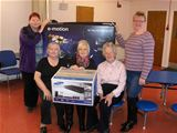 Dalry Community Centre receives new equipment - March 2014