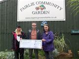 Donation to Organic Growers of Fairlie - July 2014