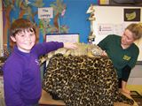 Animal Man visit to St Palladius PS (2012)