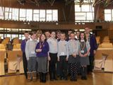 Pupils from St Palladius visit the Scottish Parliament, Edinburgh (2012)