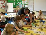 Pottery workshop with Andrew McCulloch at St Palladius PS (2011)