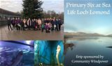CWL delighted to fund St Bridget's Primary P6 trip to SeaLife Loch Lomond Aquarium – 11th December 2018