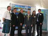 Official Opening of Dalry Community Windfarm - June 2006