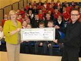 £500 for Dalry PS homework diaries (2012)