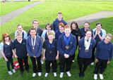 Swimmers at North Ayrshire Amateur Swimming Club (2010)
