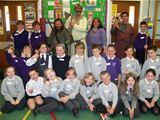 Glasgow Vikings visit St. Palladius PS (2012)