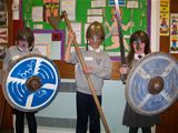 St Palladius pupils ready for a Viking battle (2012)