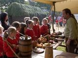 Dalry P5 pupils visit Vikingar! in Largs (2010)