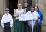 Donation for local disbaled childrens group (2011)