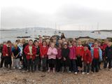 Dalry Primary visiting Millport (2011)