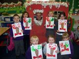 Ranger Pete with St. Palladius pupils at Christmas (2007)