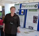 Sandra Scott and BeGreen Dalry stand - June 2010
