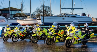Our Covid-19 crisis fund is now supporting Blood Bike Scotland