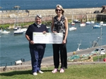 Donation for Dunbar Harbour Trust - July 2014