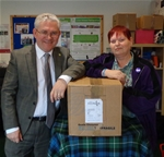 BeGreen Dalry is now a Food Parcel Collection Point - updated April 2014