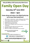Family Open Day - 14th June 2014