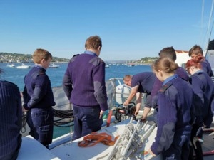 Dunbar Sea Cadets receive timely boost to morale