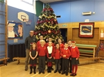 Christmas tree donated to St Anthony's Primary – 13th December 2016