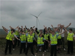 Abbey Primary Visit Dalry and Millour Hill Community Wind Farms to Learn About Renewable Energy – 9th June 2016