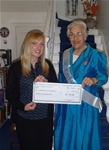 Donation to Dunbar Unicef - March 2014
