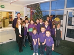 Christmas tree donated to St. Bridget's Primary School – 21st December 2015
