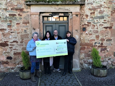 Tyninghame Village Hall - £5,000 donation