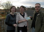 Dalry Nursery School donation - 2011