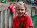 CWP sponsorship enables 10 year old Ukrainian girl to enjoy a 3 week visit to Ayrshire - Sept 2014