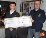 Sponsorship for Karate Competitor, Dec 2011