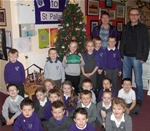 Christmas Tree switch-on at St. Palladius PS - Dec 2013