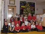 Christmas Tree switch-on at Dalry Primary - Dec 2013