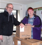BeGreen Dalry is Food Parcel Collection Point - March 2014