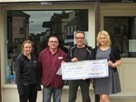 Donation for Dalry's Christmas Lights 2014 - June 2014