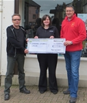 Patronage and donation to Chernobyl Children's Lifeline - May 2014