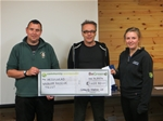 Hessilhead Wildlife Rescue receives Patronage and donation from CWL - May 2014