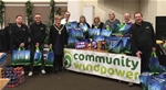 Community Windpower continue their support for local Foodbanks with Christmas Hampers - 16th December 2015